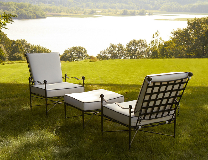 Amalfi Living - Lounge Chairs & Ottoman