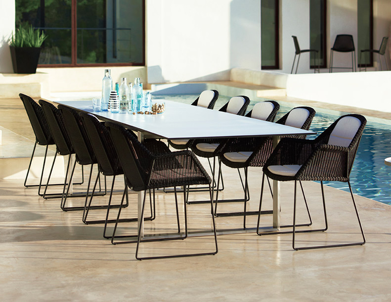 Cane-line - Breeze Chairs & Edge Table