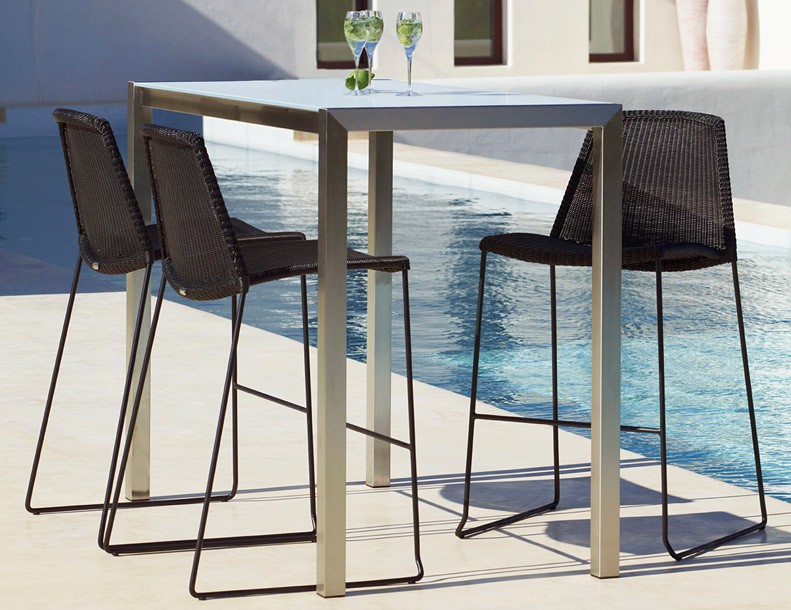 Cane-line - Breeze Bar Chair & Share Bar Table