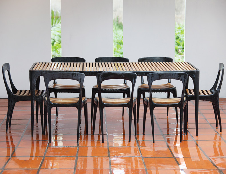 Henry Hall - Flow Chairs & Table