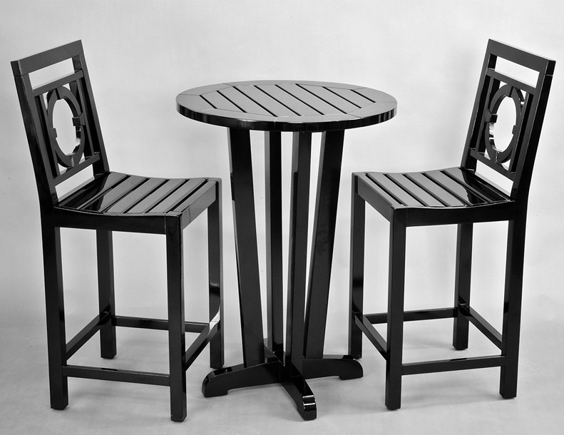 Richardson Allen – Empire Bar Chair & Table