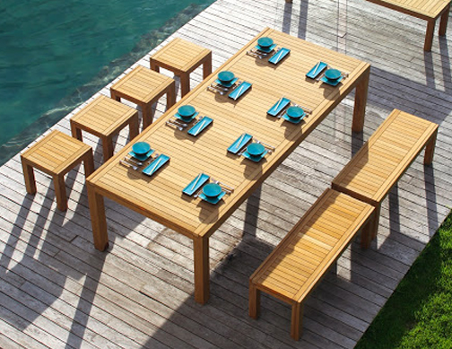 Royal Botania - Ixit Benches, Stools & Table