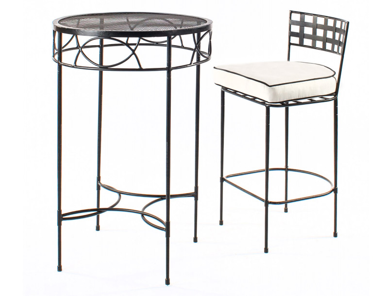 Amalfi Living - Bar Stool & Table