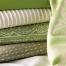 Giati Elements Textiles - Greens & Whites