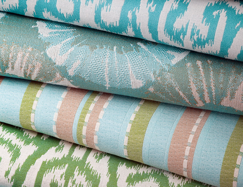Giati Elements Textiles - Turquoise & Greens