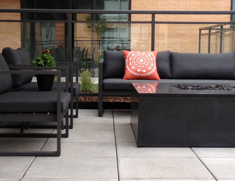 Harbour Outdoor - Piano Arm Chair & Sofa
