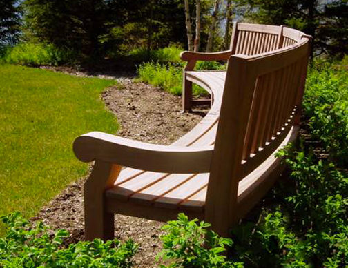 Richardson Allen - Custom Curved Bench