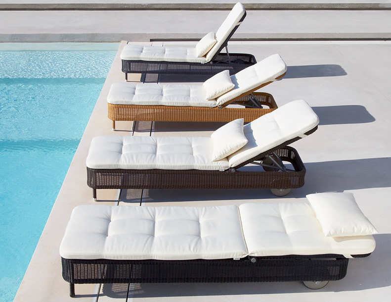Cane-line - Presley Chaise Lounges