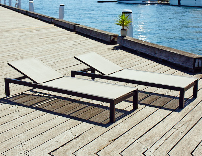 Harbour Outdoor - Piano Chaise Lounges