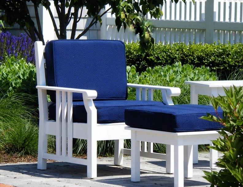 Richardson Allen - Empire Chair & Ottoman