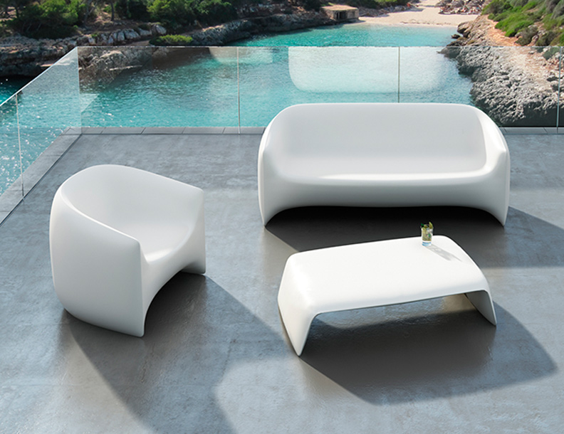 Vondom - Blow Chair, Sofa & Table