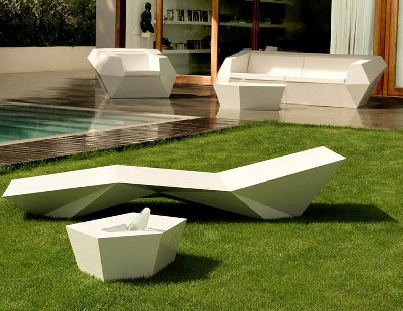 Vondom - Faz Chaise Lounge, Tables, Sofa & Chair