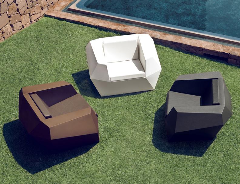 Vondom - Faz Lounge Chairs