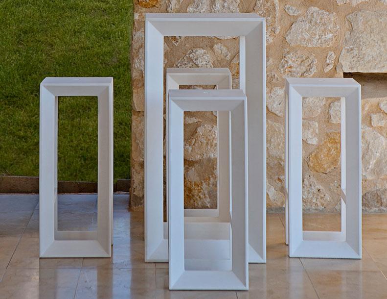 Vondom - Frame Table & Stools