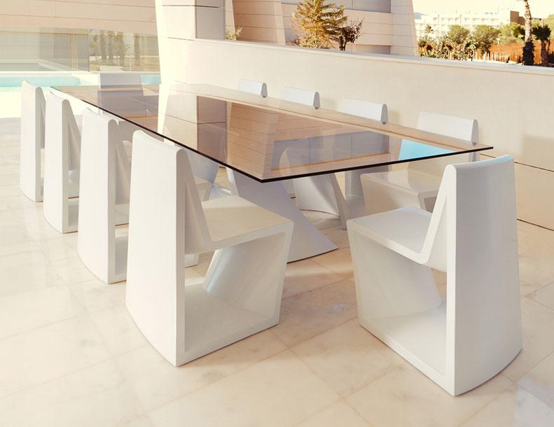 Vondom - Rest Chairs & Table