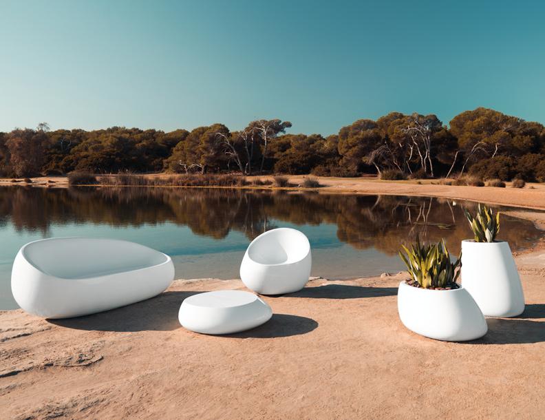 Vondom - Stones Sofa, Chair, Table & Planters