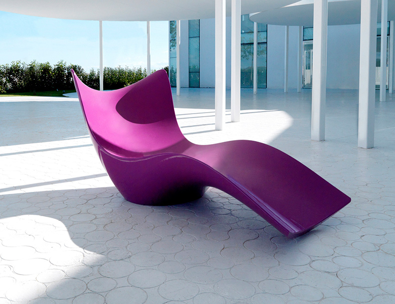Vondom - Surf Chaise Lounge