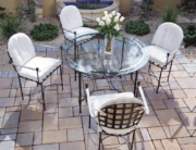 Amalfi Living - Table & Round Back Chairs