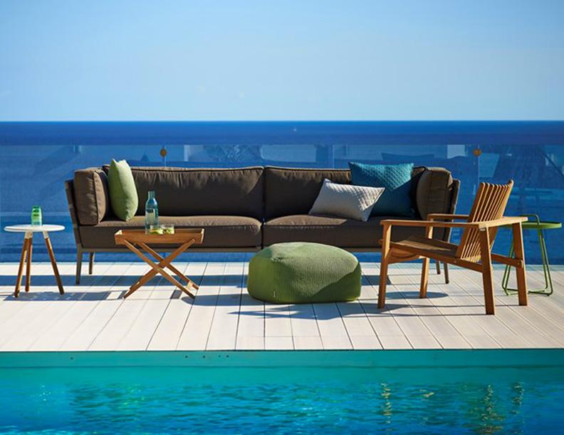 Cane-line - Conic Sofa & Amaze Lounge
