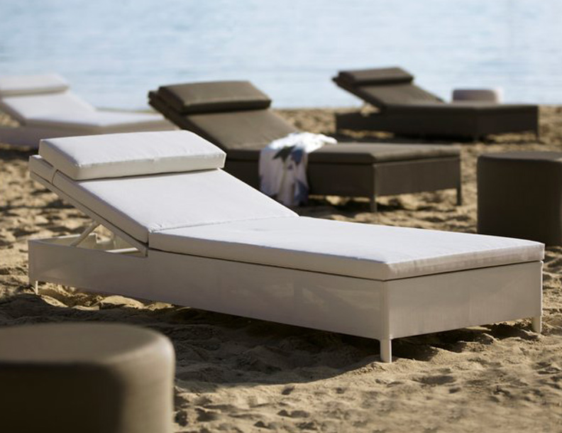Cane-line - Rest Sunbeds & Tables