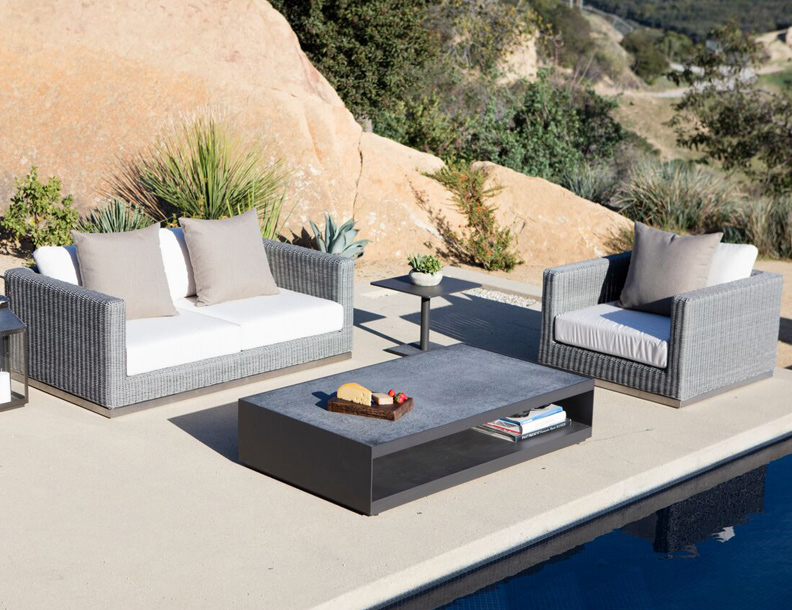 Harbour Outdoor - Camp Cove Sofa & Armchair, Macquarie & Madison Tables