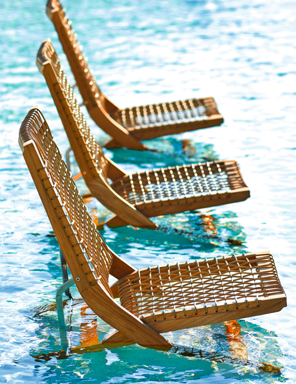 Henry Hall - Serene Folding Lounge Chairs