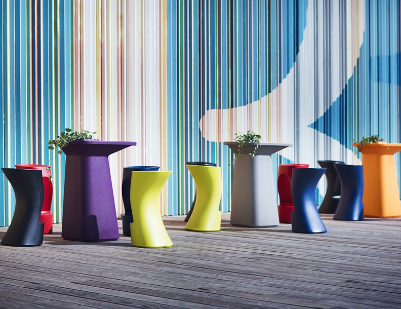 Vondom - Moma Bar Tables & Stools
