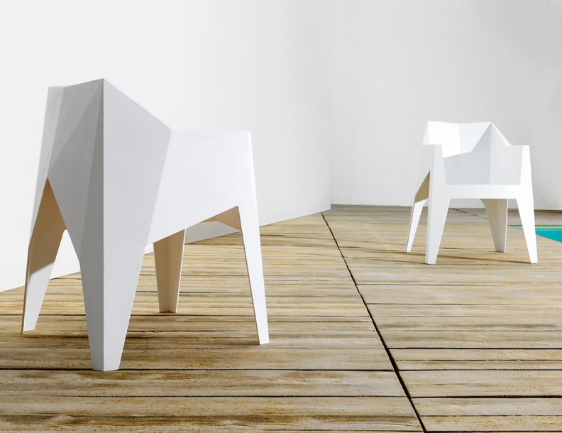 Vondom - Voxel Chairs