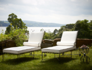 Amalfi Living - Chaise Lounges & Hourglass Table