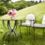 Amalfi Living - Round Back Chairs & Hourglass Table