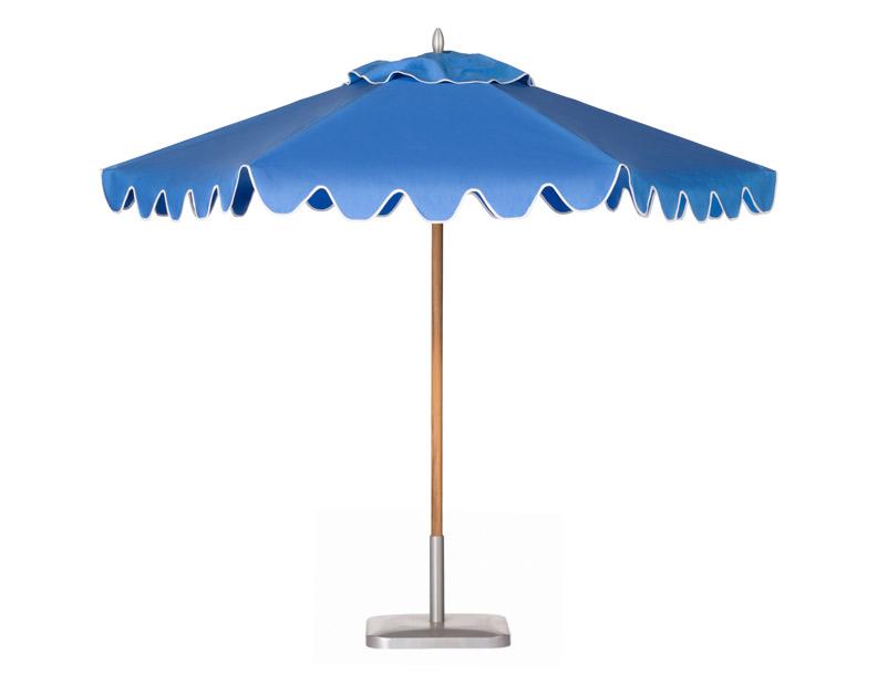 Santa Barbara Umbrella - Montecito Teak