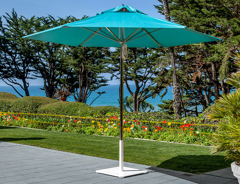 Santa Barbara Umbrella - Paseo Stainless Steel
