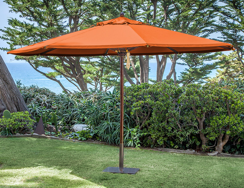 Santa Barbara Umbrella - Santa Barbara Mahogany 2