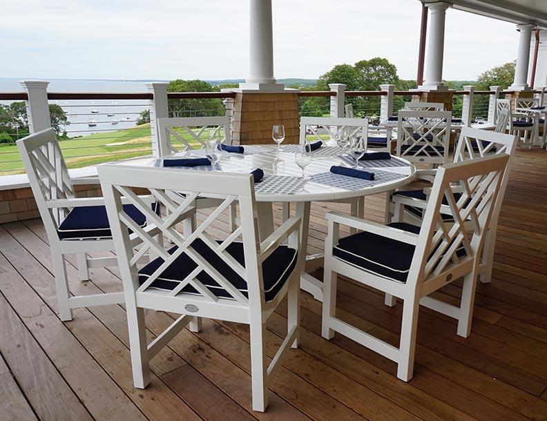 Richardson Allen U2013 Straight Pedestal Table U0026 Empire Chairs