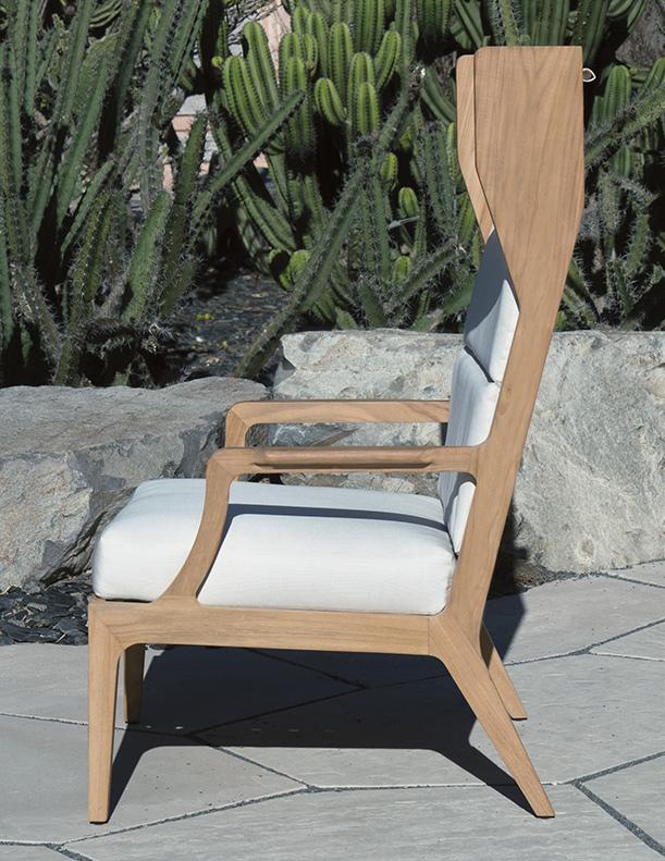 Giati Wingback Lounge Chair