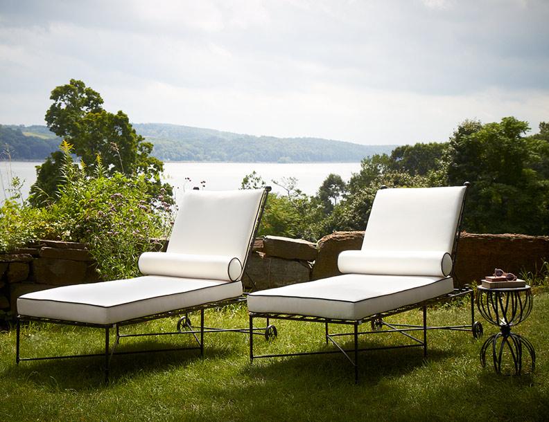 Bon Amalfi Living   Chaise Lounges U0026 Hourglass Table